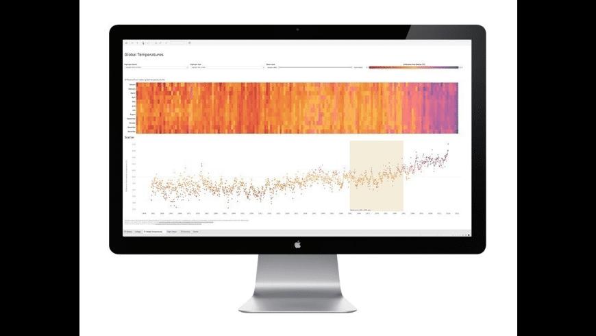 Tableau Reader for Mac - review, screenshots
