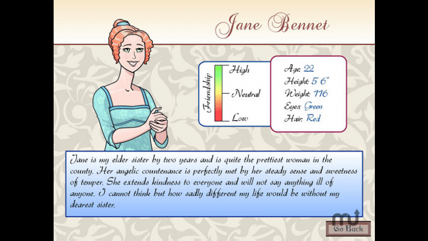 Matches and Matrimony: A Pride and Prejudice Tale for Mac - review, screenshots