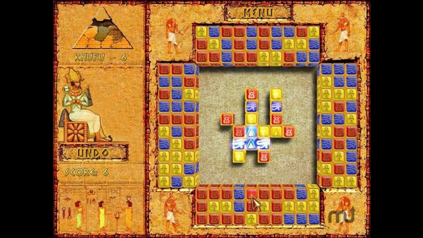 Brickshooter Egypt for Mac - review, screenshots