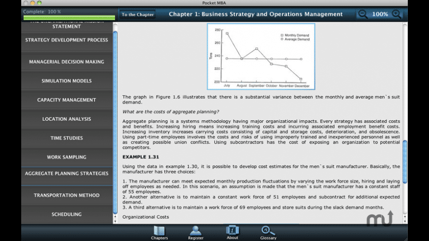 Pocket MBA: Learning Studio for Mac - review, screenshots
