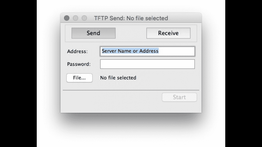 TFTP Client for Mac - review, screenshots