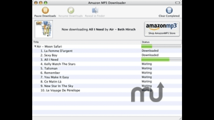 Amazon MP3 Downloader for Mac - review, screenshots