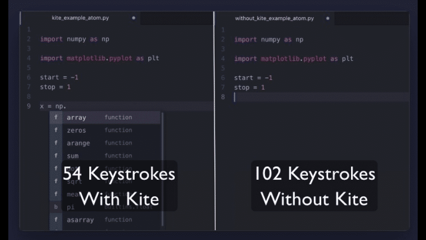 Kite for Mac - review, screenshots