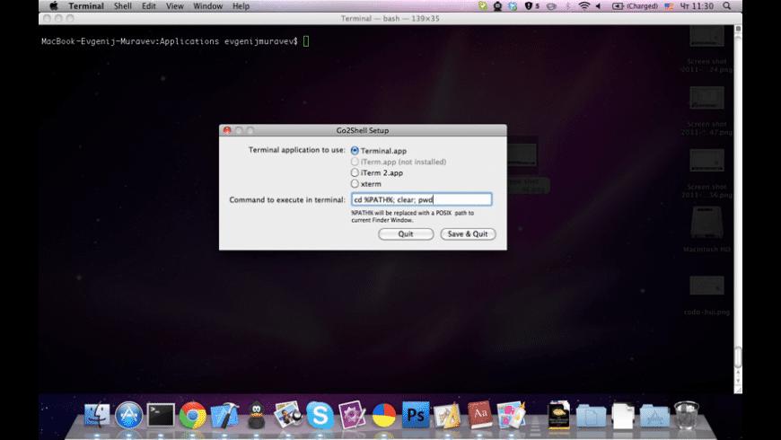 Go2Shell for Mac - review, screenshots