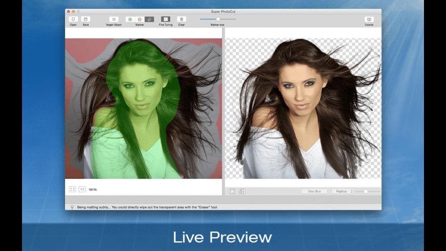 Super PhotoCut for Mac - review, screenshots