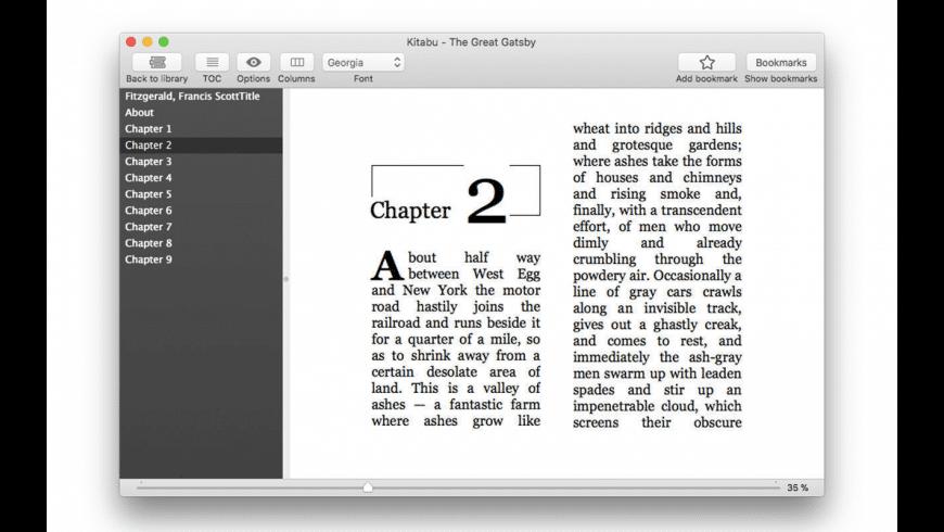Kitabu for Mac - review, screenshots