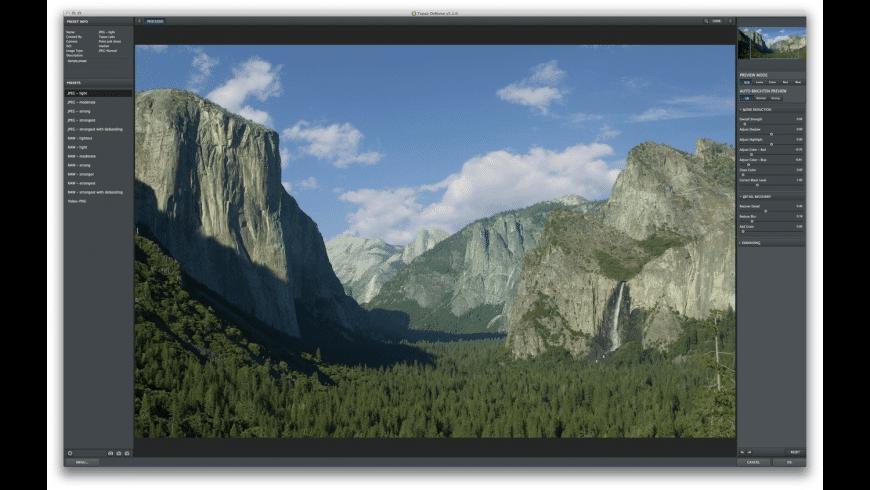 Topaz DeNoise for Mac - review, screenshots
