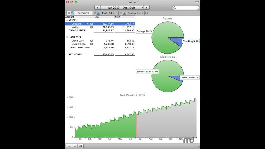 moneyGuru for Mac - review, screenshots