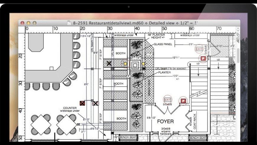 MacDraft Pro for Mac - review, screenshots