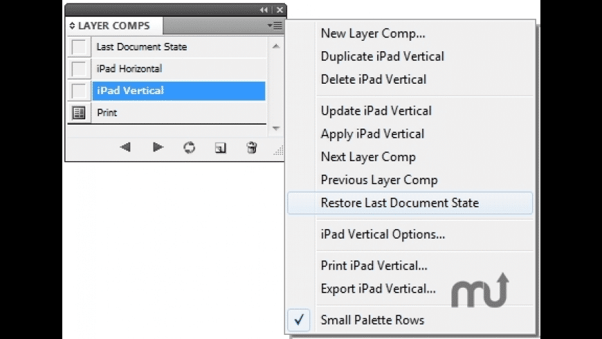 Layer Comps for Mac - review, screenshots
