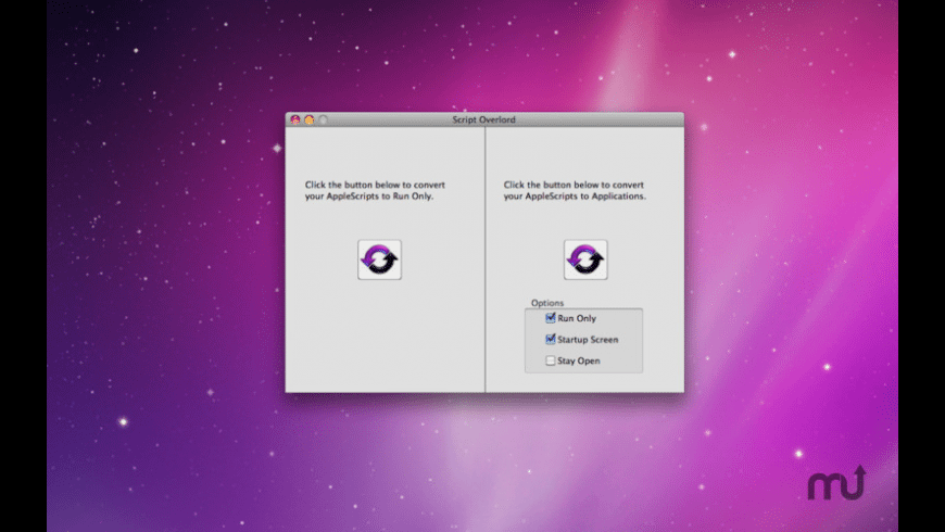 Script Overlord for Mac - review, screenshots