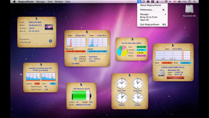 MagicanPaster for Mac - review, screenshots
