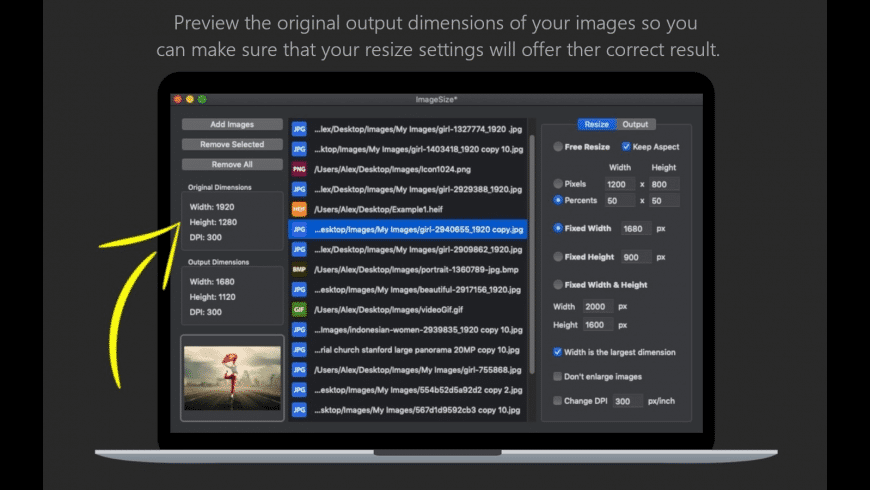 ImageSize for Mac - review, screenshots
