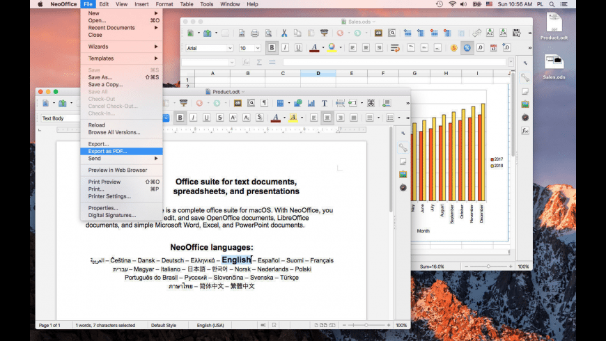 NeoOffice for Mac - review, screenshots