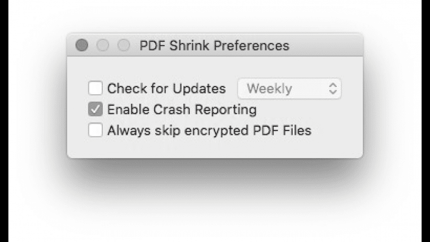 PDF Shrink for Mac - review, screenshots