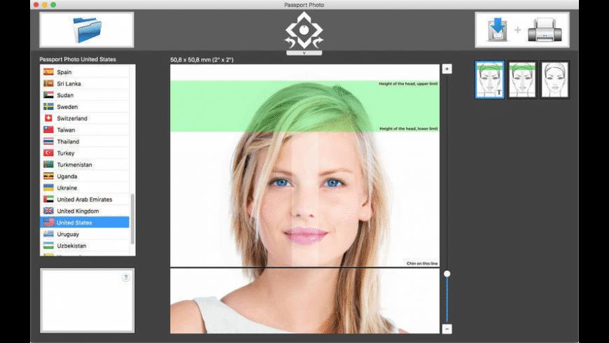 Passport Photo for Mac - review, screenshots