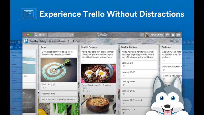 Trello for Mac - review, screenshots