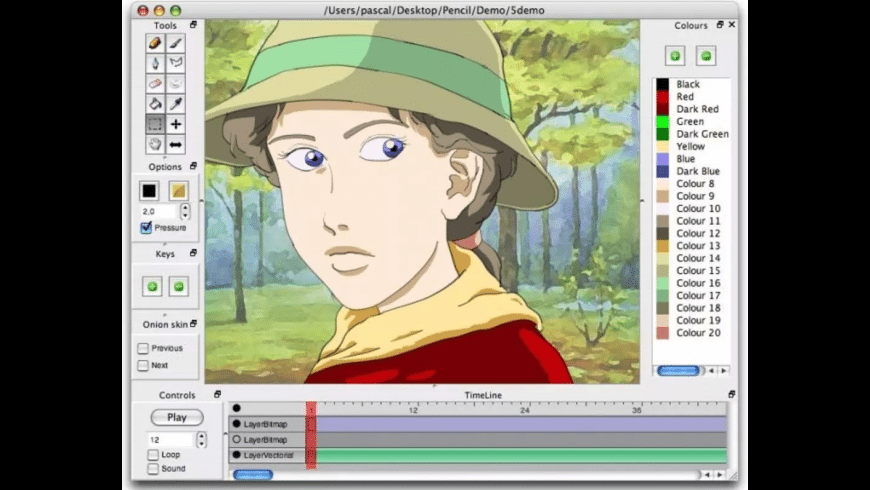 Pencil for Mac - review, screenshots