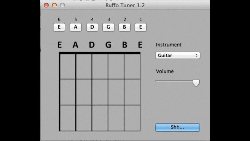 Buffo Tuner for Mac - review, screenshots