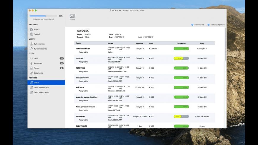 xPlan4 Desktop for Mac - review, screenshots