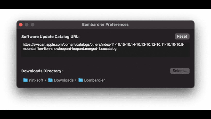 Bombardier for Mac - review, screenshots