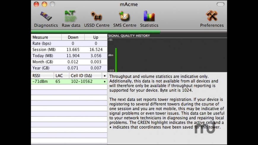 mAcme for Mac - review, screenshots