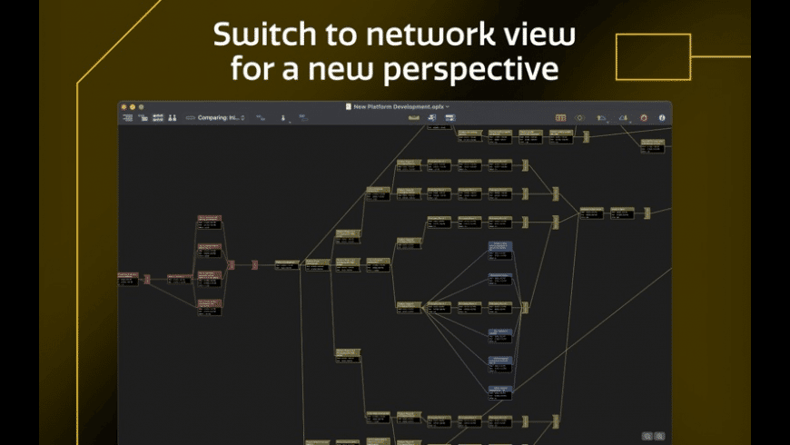 OmniPlan for Mac - review, screenshots