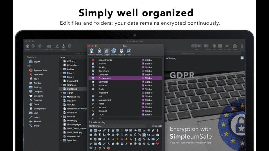 SimpleumSafe for Mac - review, screenshots
