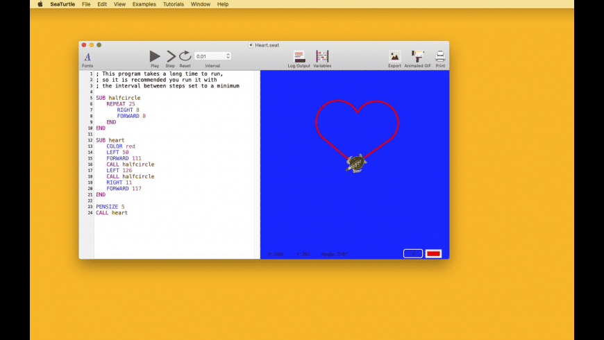 SeaTurtle for Mac - review, screenshots