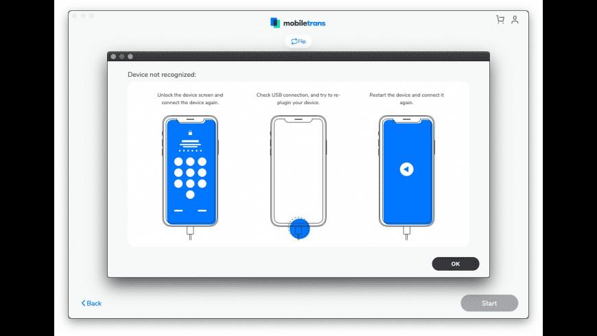 Wondershare MobileTrans for Mac - review, screenshots