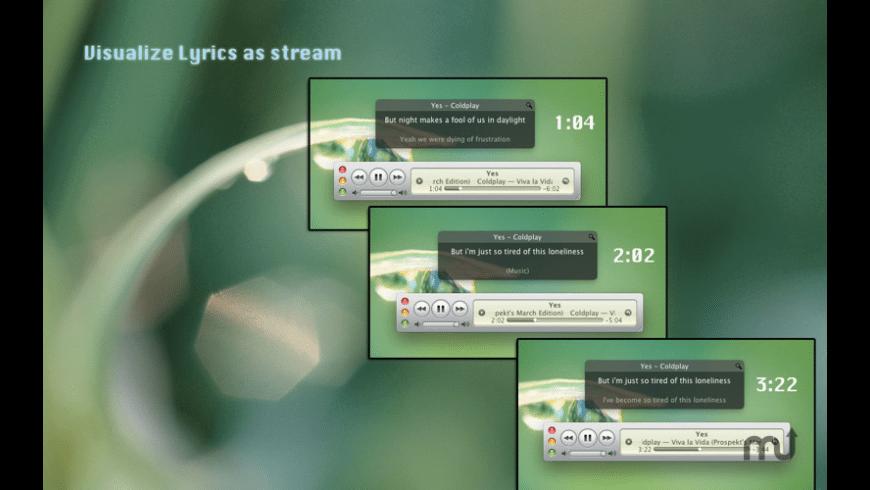 LyricStream for Mac - review, screenshots