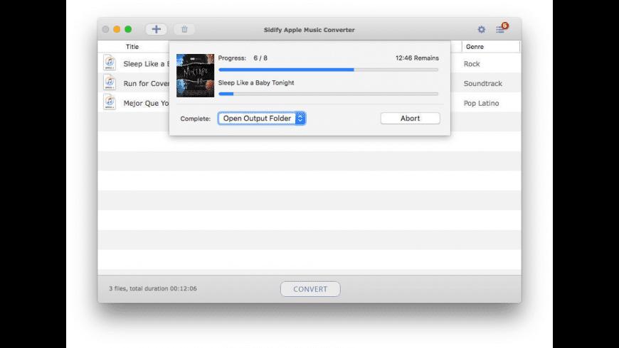 Sidify Apple Music Converter for Mac - review, screenshots