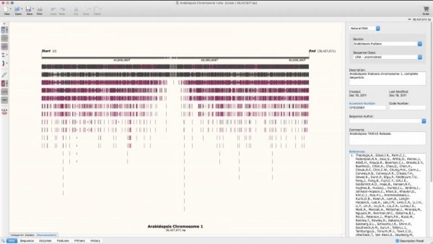 SnapGene Viewer for Mac - review, screenshots