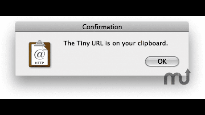 Tiny URLs for Mac - review, screenshots