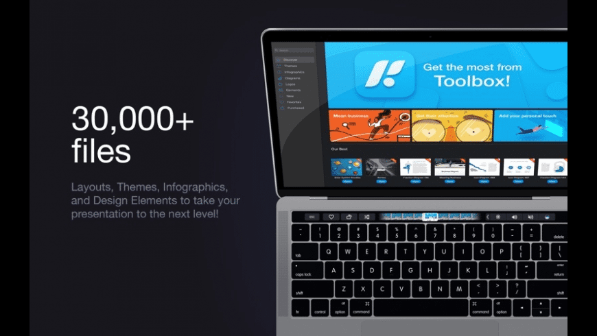 Toolbox for Keynote for Mac - review, screenshots