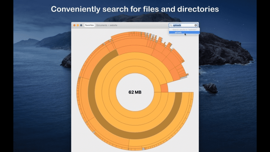 Disk Graph for Mac - review, screenshots