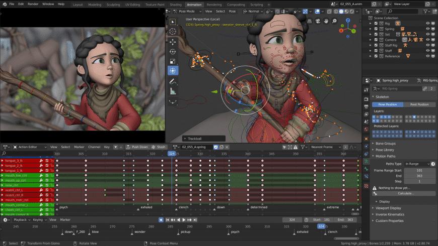 Blender for Mac - review, screenshots