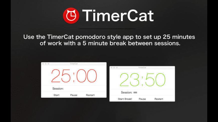 TimerCat for Mac - review, screenshots