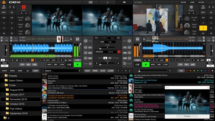 PCDJ DEX for Mac - review, screenshots