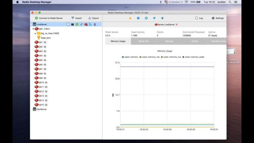 Redis Desktop Manager for Mac - review, screenshots