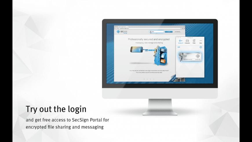 SecSign ID for Mac - review, screenshots