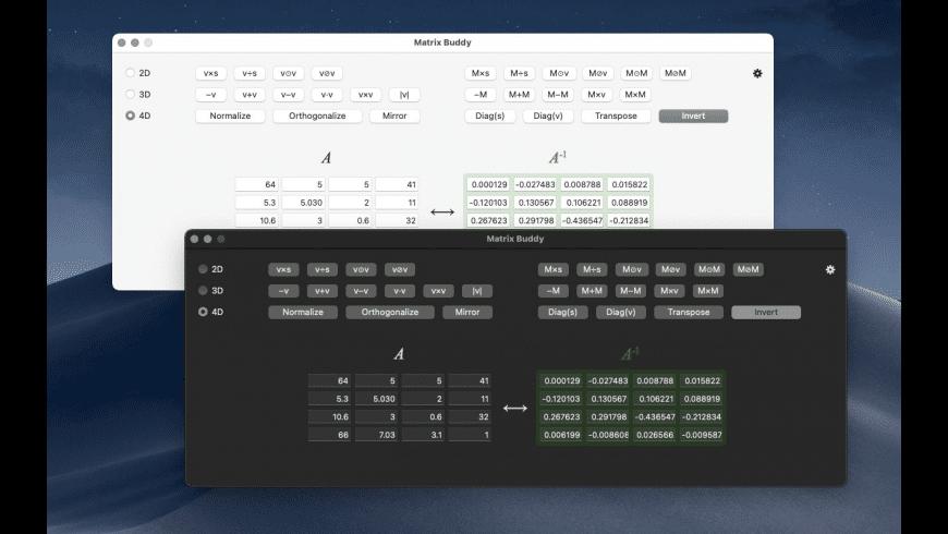 Matrix Buddy for Mac - review, screenshots