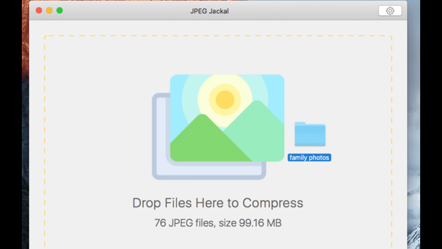 JPEG Jackal for Mac - review, screenshots