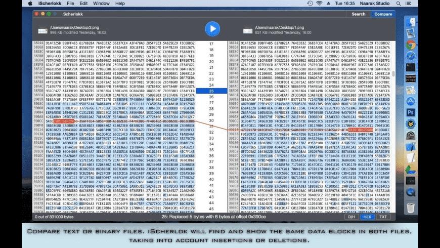 Scherlokk for Mac - review, screenshots