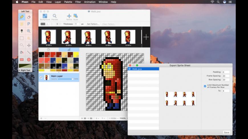 Pixen for Mac - review, screenshots