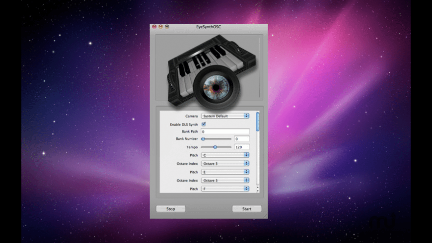 Eye Synth OSC for Mac - review, screenshots