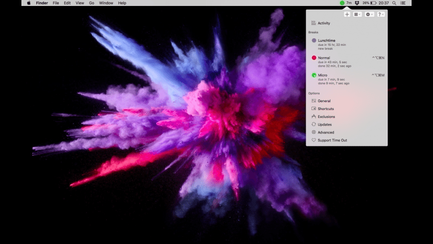 Time Out for Mac - review, screenshots
