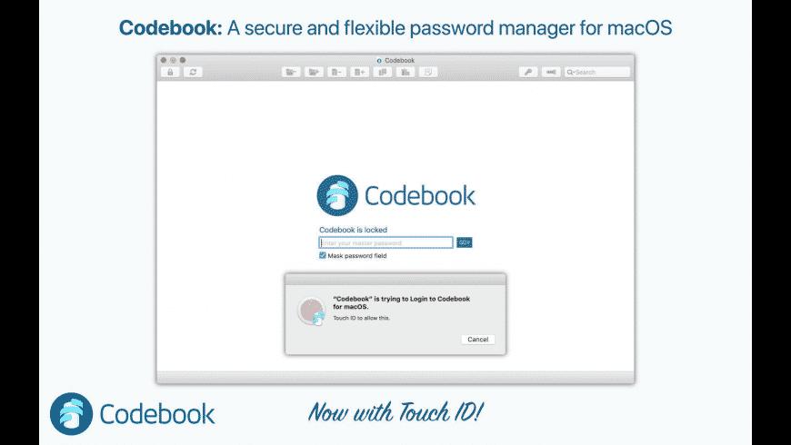 Codebook for Mac - review, screenshots