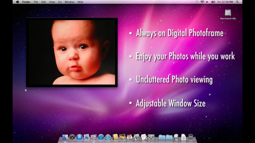Desktop Photoframe for Mac - review, screenshots