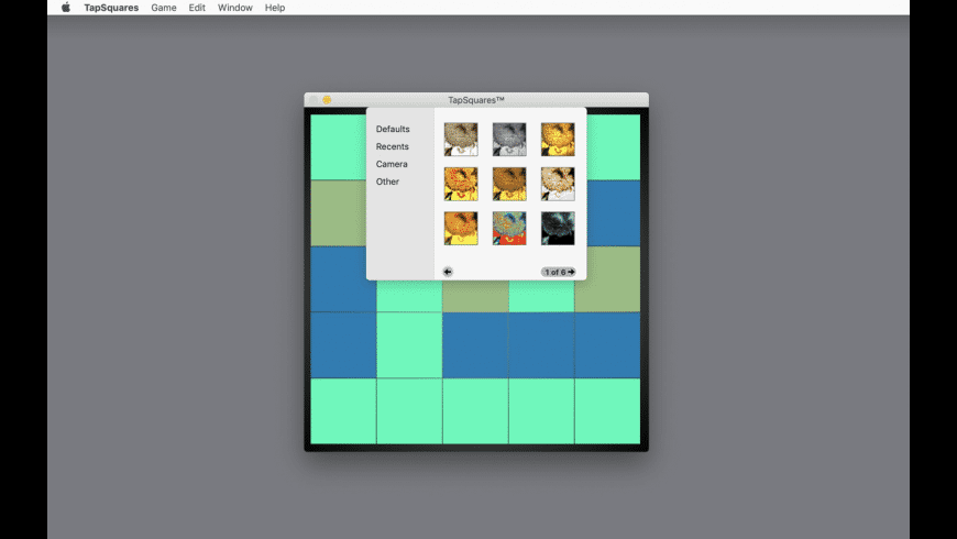 TapSquares for Mac - review, screenshots